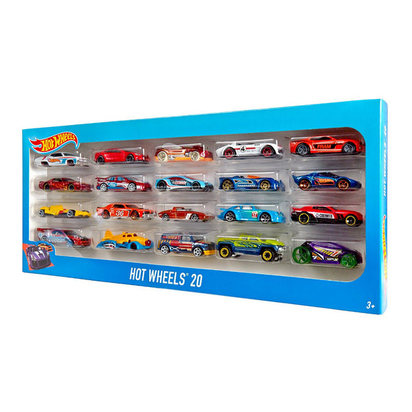 Hot Wheels® H7045 Assorted 20 Car Pack, Ages 3+