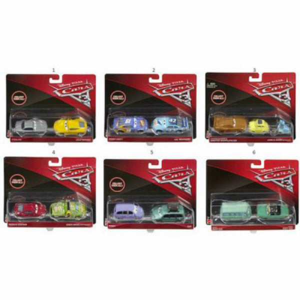 Disney-Pixar® DXV99 Assorted Deluxe Car Toys, 2-Pack