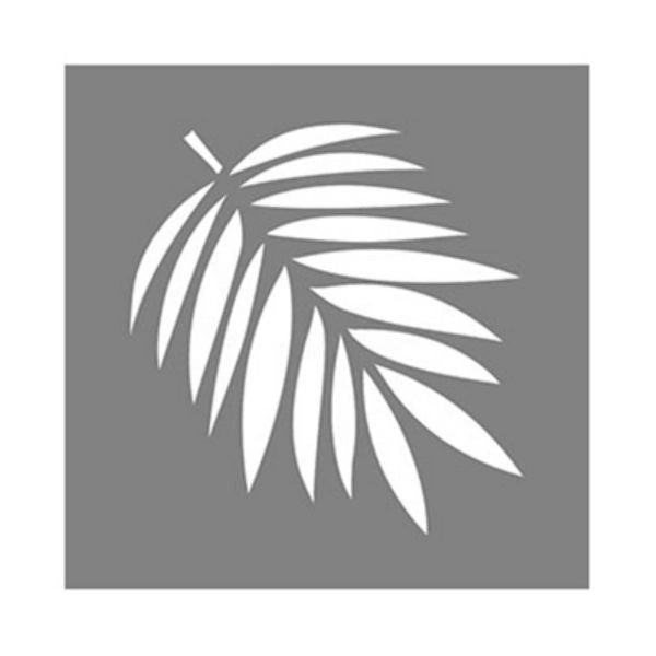 "DecoArt® ADS107-K Americana® Decor Tropical Leaf Stencil, 6"" x 6"""