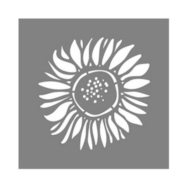 "DecoArt® ADS106-K Americana® Decor Sunflower Stencil, 6"" x 6"""