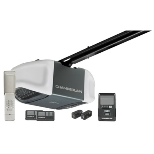 Chamberlain® B510 Ultra Quiet Belt Drive Garage Door Opener, 1/2 HP