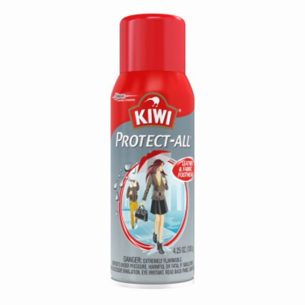 Kiwi® 70415 Protect-All™ Leather & Fabric Footwear Waterproofer, 4.25 Oz