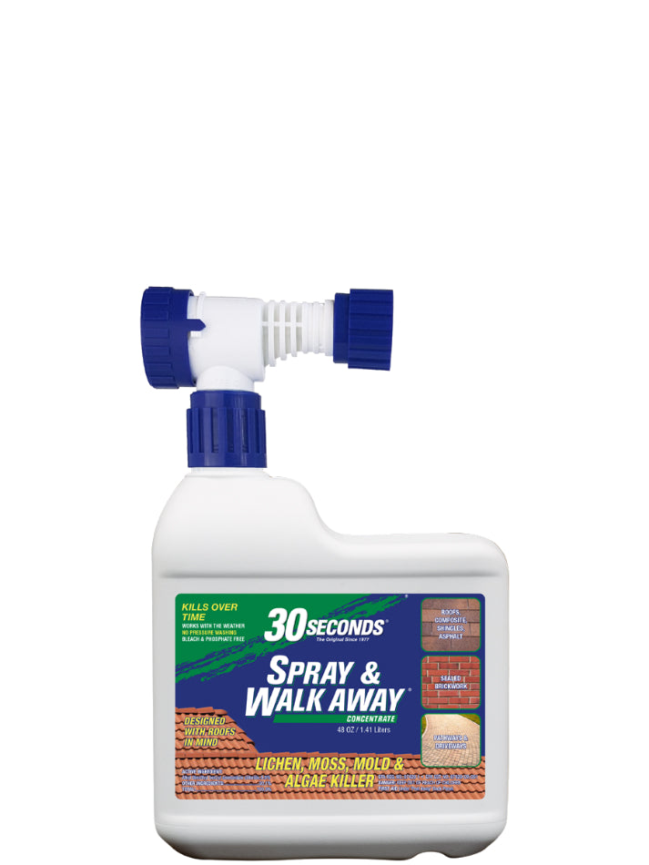 30 SECONDS® 64SAWA Spray & Walk Away Surface Cleaner w/ Hose End Spray