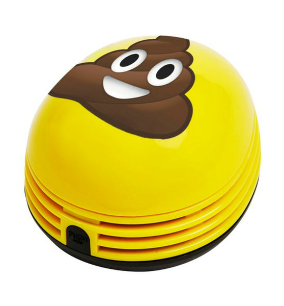 Crumby™ CRB-POO Poop Emoji Mini Vacuum with 12000 RPM Motor, As Seen On TV