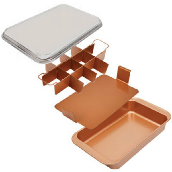 Copper Chef CCBC Bake & Crisp Pan with Adjustable Insert, As Seen On TV
