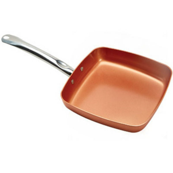 Copper Chef® CCSQ-9.5 Ceramic Non-Stick Square Frying Pan, As Seen On TV, 9.5""