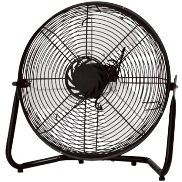 Homepointe HVF14-SP 3-Speed High Velocity Fan, Black, 65W, 14""