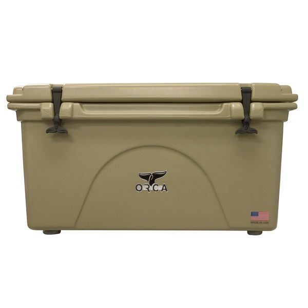 ORCA® ORCT075 Roto-Molded Cooler, Tan, 75 Qt