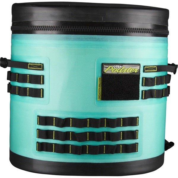 ORCA® ORCPDSTRSF/GR Seafoam/Grey Podster Backpack Cooler, 3.5 Gallon