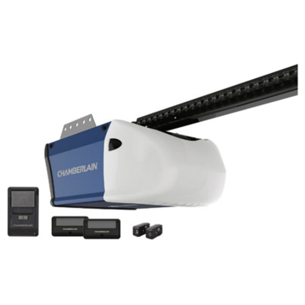 Chamberlain® B550 Ultra Quiet Belt Drive Garage Door Opener, 1/2 HP