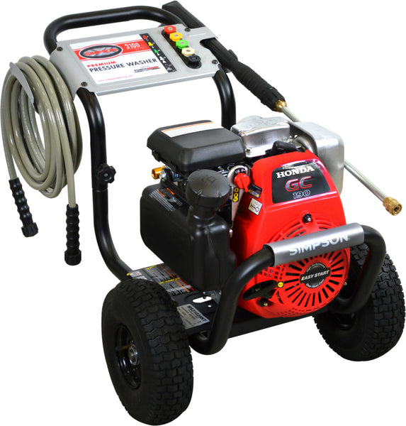 Simpson MS31025HT MegaShot Gas Pressure Washer, 3100 PSI @ 2.5 GPM