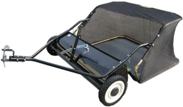 Master Rancher YTL-008-009 Tow Behind Sweeper w/ 12 Cu.Ft. Hopper Capacity, 42""