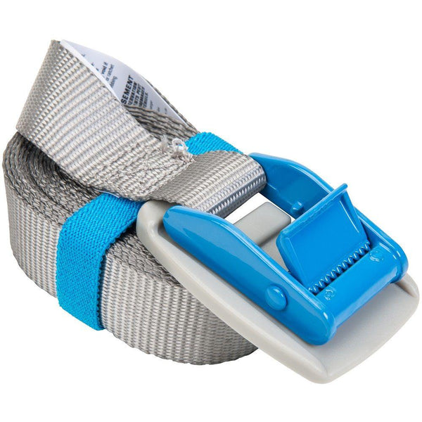 "Keeper® 45201 Lashing Strap with Protective Pad, Blue, 1"" x 10'"