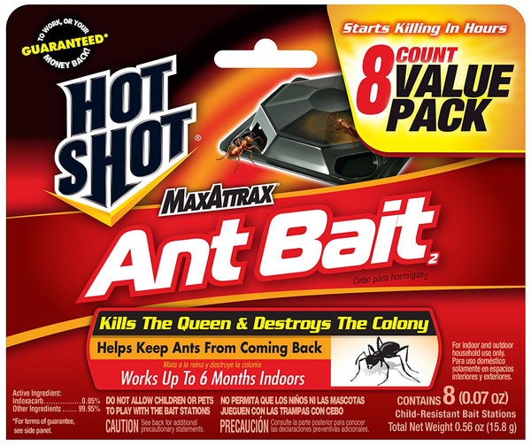 Hot Shot® HG-2048 MaxAttrax® Ant Bait2, 8-Count