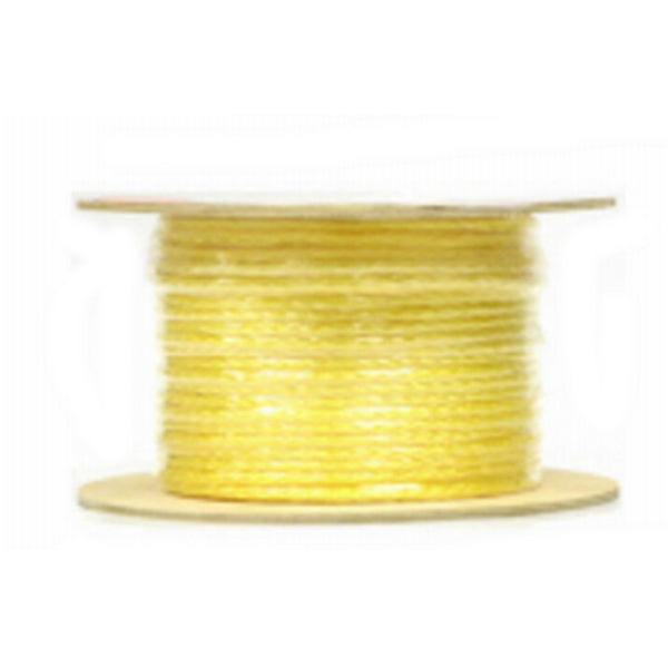"Mibro 644741TV Braided Polypropylene Rope, Yellow, 3/8"" x 400'"