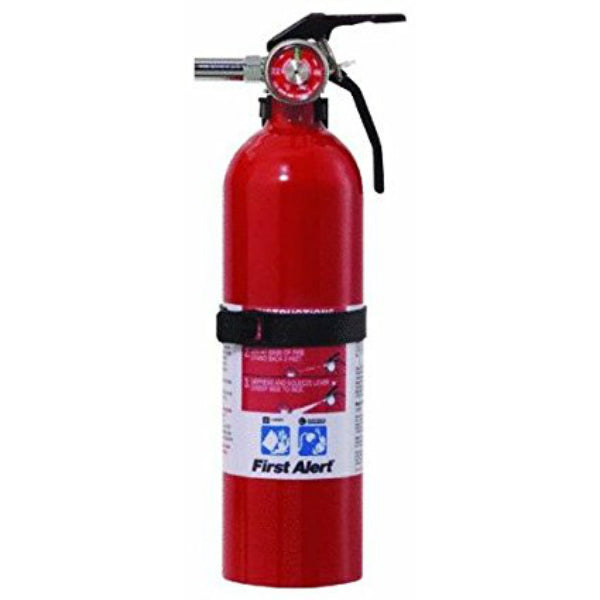 First Alert REC5 Rechargeable Recreation Fire Extinguisher UL Rate 5-B:C, 2 Lb