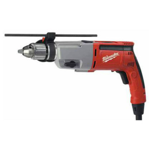 Milwaukee 5387-22 Dual Speed Corded Hammer-Drill, 1/2""