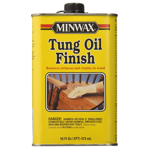 Minwax 47500000 Tung Oil Finish For Woods, 1-Pint