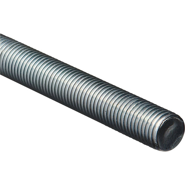 National Hardware 179572 Steel Coarse Threaded Rod, Zinc Plated, 1-8 x 36""