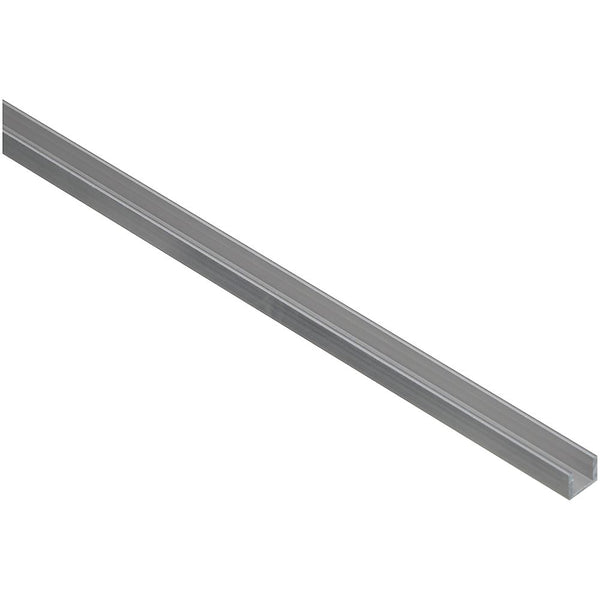 "National Hardware N247-668 Aluminum Channel, 1/16"" Thick, 1/2"" x 72"", Mill"