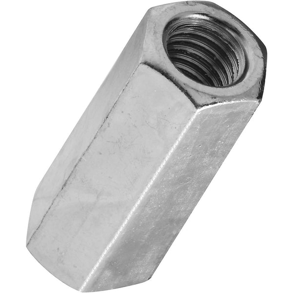 National Hardware 182691 Steel Coarse Thread Coupler, Zinc Plated, 7/16-14