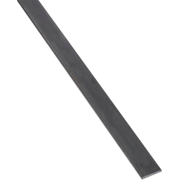 "National Hardware 215566 Plain Steel Weldable Solid Flat Bar, 1/8"" x 1"" x 72"""