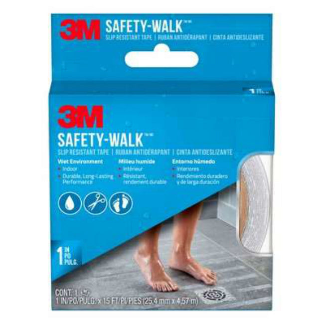 "3M 7640 Safety-Walk Tub & Shower Tread Tape, 1 x 180"", Clear"