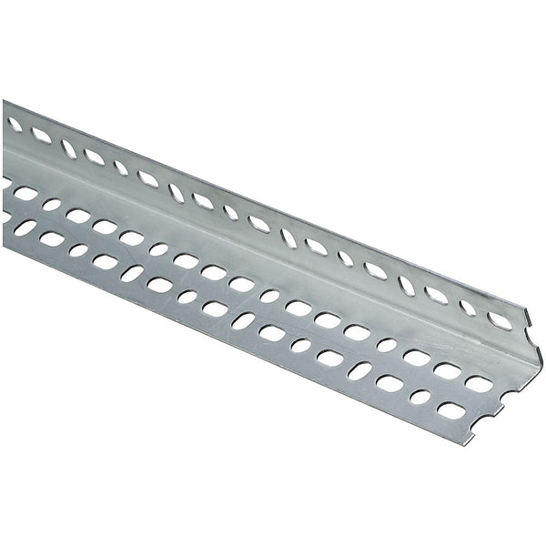 National Hardware N341-172 Offset Slotted Angle, Galvanized Steel, 48 in