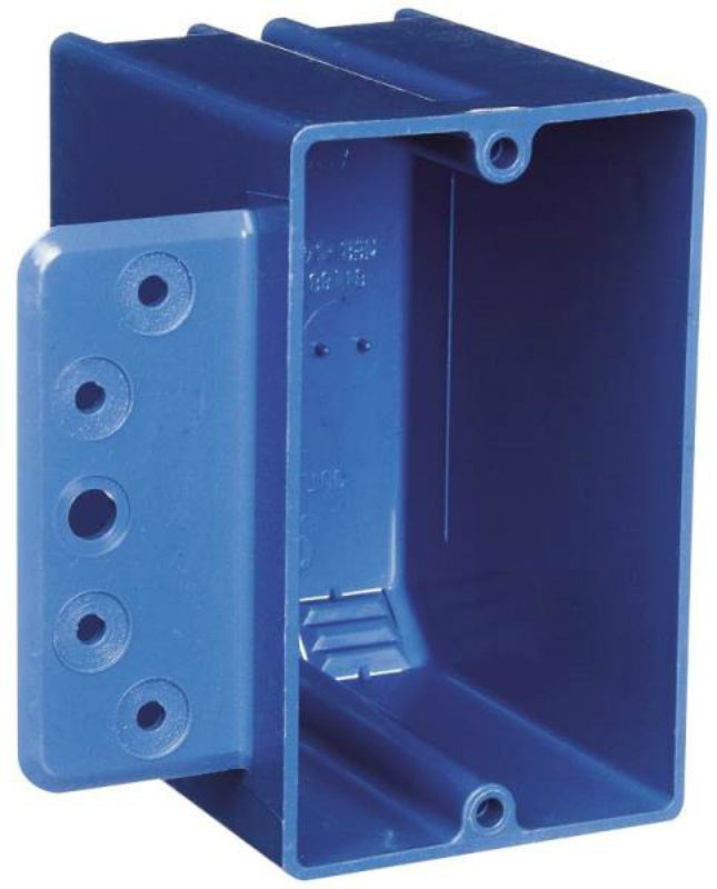 "Carlon B118B-UPC Pvc Switch Box, 1 Gang, 3/8"" To 5/8"""