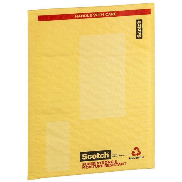 "Scotch 8913 Plastic Super Strong & Moisture Resistant Smart Mailer, 6"" x 9"""