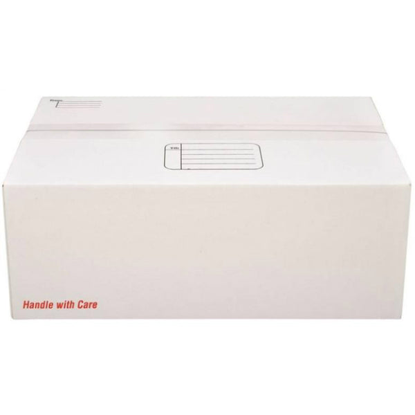 "Scotch 8007 Mailing Box 17.25""x11.25""x6"", White"