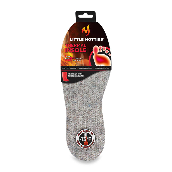 Little Hotties 07216 Thermal Insoles, Heat Rated to -13 Deg F, 1-Pair