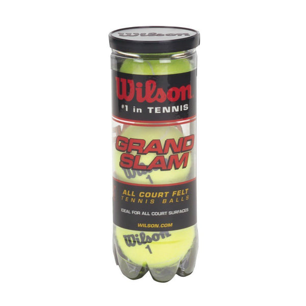 Wilson® WRT1043 Grand Slam Extra Duty Tennis Ball, Yellow, 3-Pack