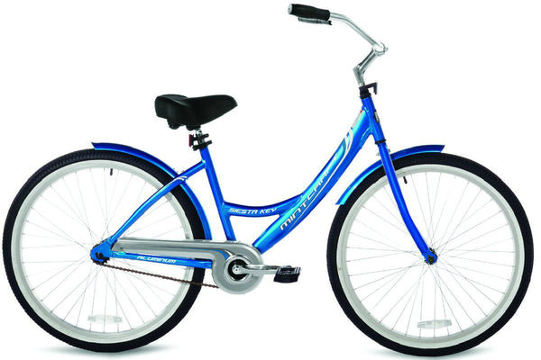 Mintcraft 32603C Womens Beach Cruiser Bicycle, Aluminum Frame