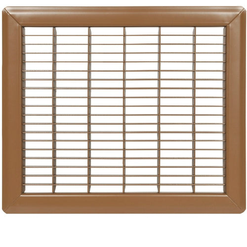 "Imperial Mfg RG1199 Trussteel Floor Return Air Grill, 8""x14"", Brown"