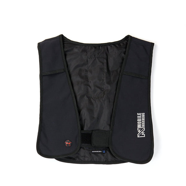 Mobile Warming MWJ14U08-3-BLK Thawdaddy Heated Vest, XL/2XL