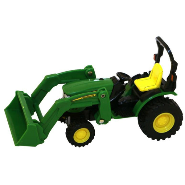 John Deere 46584 Tractor with Loader Toy, Plastic