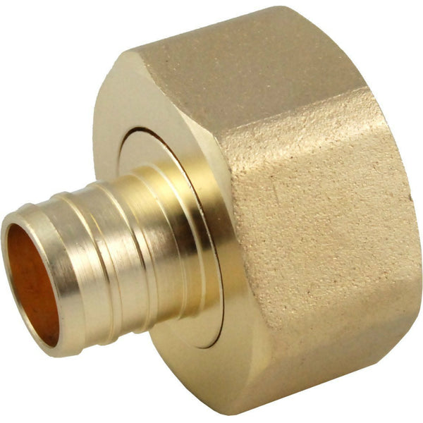 "SharkBite® UC529LFA Pex Swivel Adapter, 3/4"" x 1"" FNPT"