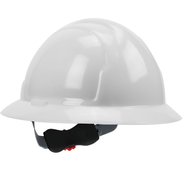 Safety Works SWX00358 Full Brim Style Hard Hat, White