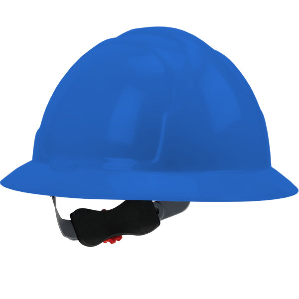 Safety Works SWX00427 Full Brim Style Hard Hat, Blue