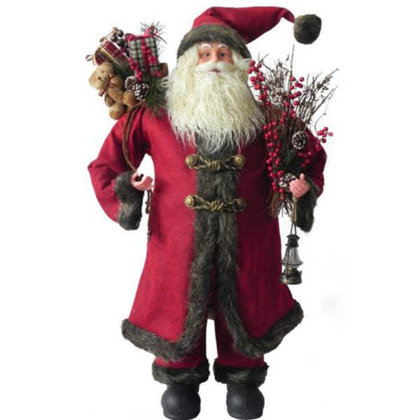 Santa's Forest 49201 Old World Standing Santa, 36""