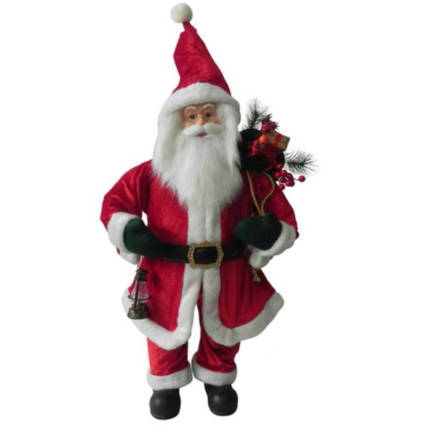 Santa's Forest 49203 Traditional Standing Santa, 32""