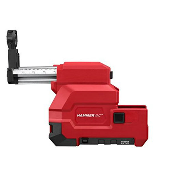 "Milwaukee 2712-DE M18 HAMMERVAC Dedicated Dust Extractor, 4.5"" Length"