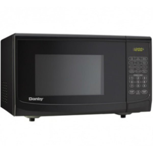 Danby DMW07A4BDB/770BLD Microwave with 10-Power Levels, Black, 0.7 Cu. Ft.