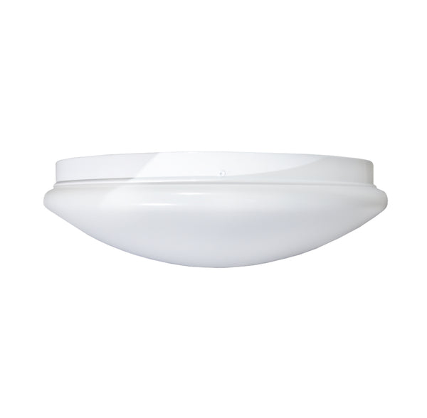 "Stonepoint LED Lighting O-PLRD-15 Dimmable 15"" Round Puff Light, 25W, 1500 lm"