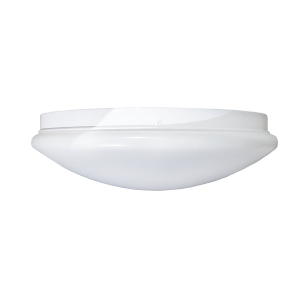 "Stonepoint LED Lighting O-PLRD-12 Dimmable 12"" Round Puff Light, 16W, 1000 lm"