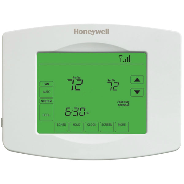 Honeywell RTH8580W1007/W Touch Screen 7-Day Programmable Thermostat with Wi-Fi