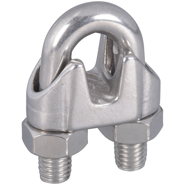 National Hardware N348-920 Wire Cable Clamp, Stainless Steel, 3/8""