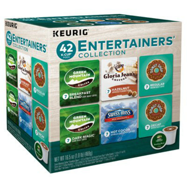 Keurig 121654 Entertainer Collection Single Serving K-Cup, 42-Count