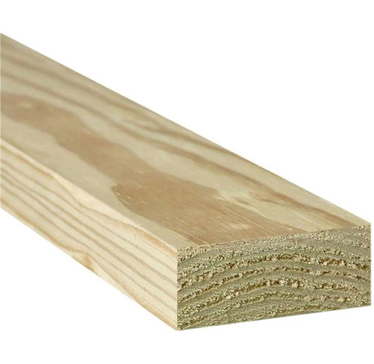 "Universal Forest Products 106002 Southern Yellow Pine, 2"" x 4"", 8'"